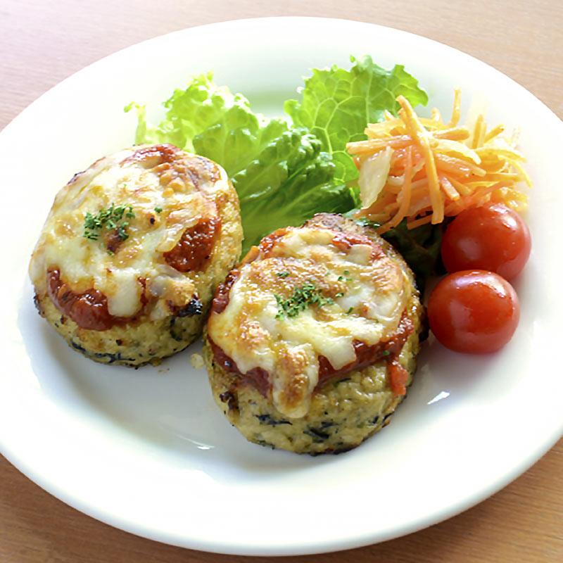 お取り寄せパスタソースナチュラルグレースメルカートのブログ 有機豆腐と地鶏のイタリアンハンバーグ