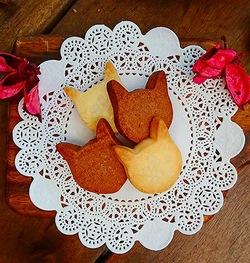 お取り寄せパスタソースナチュラルグレースメルカートのブログ 猫ちゃんクッキーで心もお腹もホッと。クッキー4枚、12枚