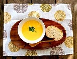 お取り寄せパスタソースナチュラルグレースメルカートのブログ フェイトケミカルスープで免疫力をつけよう! かぼちゃのポタージュ