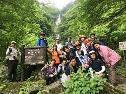 お取り寄せパスタソースナチュラルグレースメルカートのブログ 精進ヶ滝登山とバーベキュー大会!精進ヶ滝で記念撮影