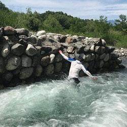 お取り寄せパスタソースナチュラルグレースメルカートのブログ 精進ヶ滝登山とバーベキュー大会!武川で水遊び2