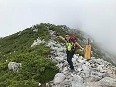 贈答・プレゼントにも。こだわり高級無添加パスタソース専門手・おとりよせのナチュラルグレースメルカートのブログ 北アルプス 常念岳登山 岩場のあとには稜線が
