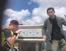 贈答・プレゼントにも。こだわり高級無添加パスタソース専門手・おとりよせのナチュラルグレースメルカートのブログ 北アルプス 常念岳登山 山頂記念撮影