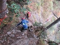 贈答・プレゼントにも。こだわり高級無添加 冷凍パスタソース専門店・おとりよせのナチュラルグレースメルカートのブログ 紅葉の涸沢登山に行ってきました!屏風岩の難所
