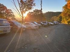 贈答・プレゼントにも。こだわり高級無添加パスタソース専門店・おとりよせのナチュラルグレースメルカートのブログ 妙高山は紅葉が綺麗でした!燕温泉駐車場場に到着