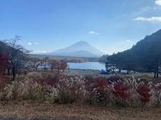贈答・プレゼントにも。こだわり高級無添加パスタソース専門店・おとりよせのナチュラルグレースメルカートのブログ 富士外輪山縦走その2 精進湖畔から見える富士山